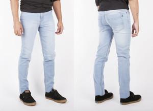 Antifashion - Light Wash Denim Skinny Jeans