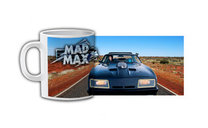 Mad Max V8 Interceptor Coffee Mug