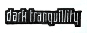 "Dark Tranquillity 5"" Embroidered Patch"