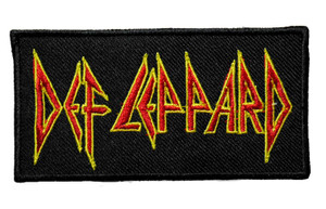 "Def Leppard 4"" Embroidered Patch"
