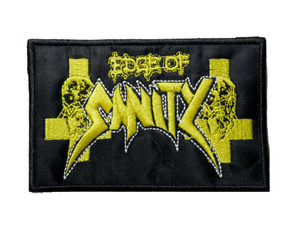 """Edge Of Sanity 4.5"""" Embroidered Patch"""