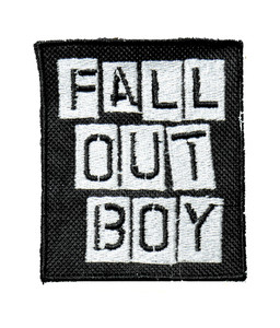"Fall Out Boy - Logo 2.5"" Embroidered Patch"