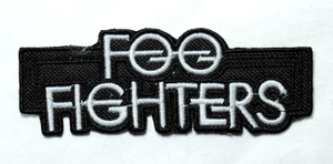 "Foo Fighters - Logo 4.5"" Embroidered Patch"