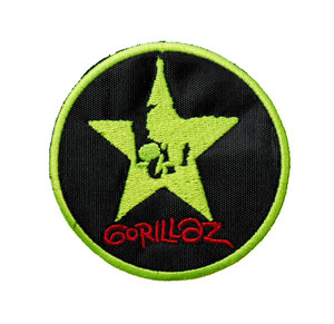 """Gorillaz 3"""" Embroidered Patch"""