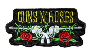"Guns N' Roses - Logo 4"" Embroidered Patch"