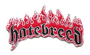 """Hatebreed Fire - Logo 4"""" Embroidered Patch"""