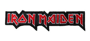"""Iron Maiden - Logo 5.5"""" Embroidered Patch"""