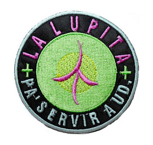"La Lupita - Pa' Servir A Ud. 4"" Embroidered Patch"