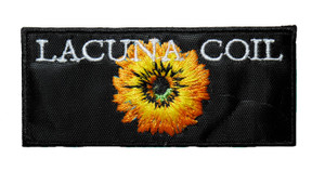 """Lacuna Coil - Sunflower 4"""" Embroidered Patch"""