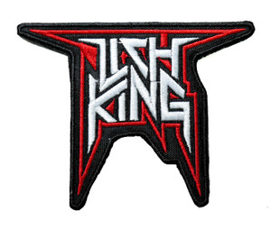 """Lich King - Logo 4.5"""" Embroidered Patch"""