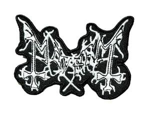 "Mayhem 4"" Embroidered Patch"