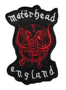 """Motörhead - England 3"""" Embroidered Patch"""