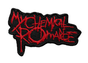 "My Chemical Romance - Logo 3"" Embroidered Patch"