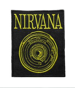 """Nirvana - Spiral 3"""" Embroidered Patch"""