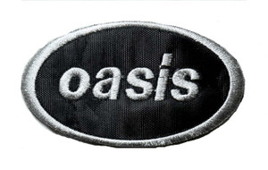 """Oasis - Logo 4"""" Embroidered Patch"""