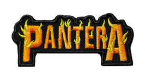 "Pantera - Orange Logo 4"" Embroidered Patch"