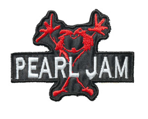 "Pearl Jam - Alive 4"" Embroidered Patch"