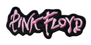 """Pink Floyd - Pink Logo 5"""" Embroidered Patch"""