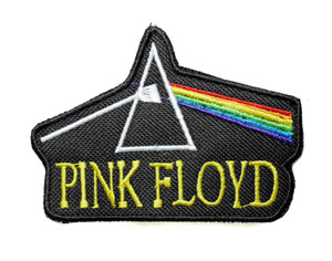 """Pink Floyd - Dark Side Of The Moon 5"""" Embroidered Patch"""