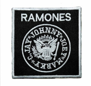 "The Ramones - Logo 3"" Embroidered Patch"