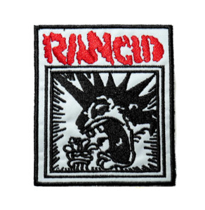 "Rancid - Punk 3"" Embroidered Patch"