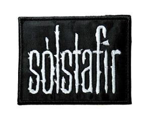 """Sólstafir - Logo 3.5"""" Embroidered Patch"""