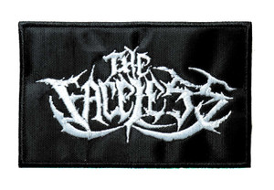"""The Faceless - Logo 4"""" Embroidered Patch"""