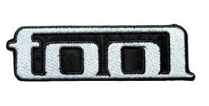 "Tool - White Logo 4.5"" Embroidered Patch"