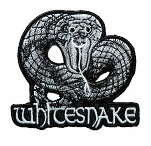 """Whitesnake 3.5"""" Embroidered Patch"""