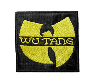 """Wu-Tang - Logo 3.5"""" Embroidered Patch"""