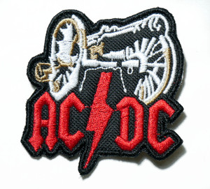 "AC/DC - Canon 3"" Embroidered Patch"