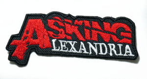 """Asking Alexandria - Logo 4"""" Embroidered Patch"""