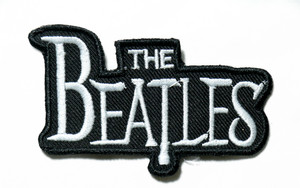 "The Beatles - Logo 4"" Embroidered Patch"