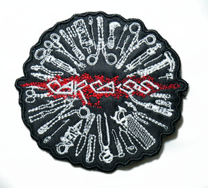 "Carcass - Surgical Steel 3"" Embroidered Patch"