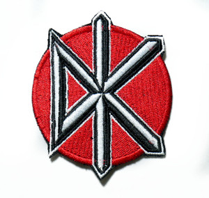 """Dead Kennedys 3"""" Embroidered Patch"""