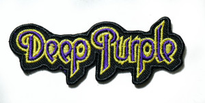 """Deep Purple - Logo 4"""" Embroidered Patch"""