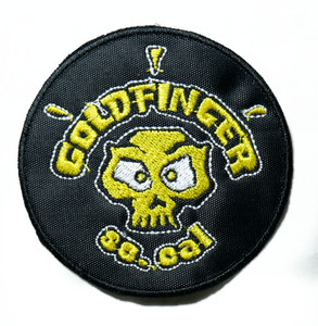 "Goldfinger - So.Cal 3"" Embroidered Patch"