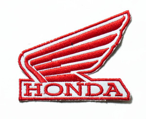 """Honda - Logo 3.5"""" Embroidered Patch"""