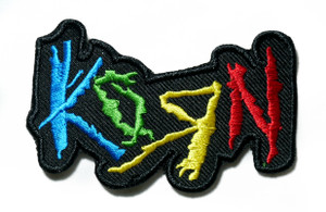 "Korn - Logo 3"" Embroidered Patch"