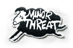 """Minor Threat - Sheep 3"""" Embroidered Patch"""