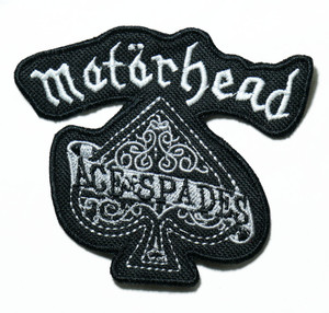"""Motörhead - Ace Of Spades 3.5"""" Embroidered Patch"""