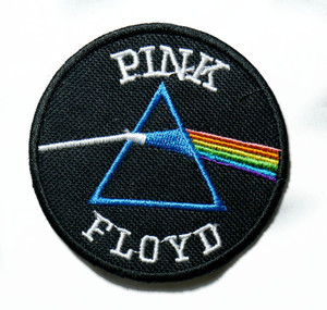 "Pink Floyd - Dark Side Of The Moon Round 3"" Embroidered Patch"