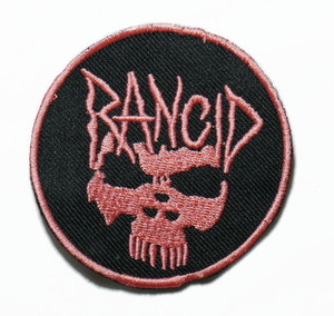 "Rancid - Skull 3"" Embroidered Patch"
