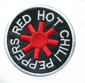 """Red Hot Chili Peppers - Logo 2.7"""" Embroidered Patch"""