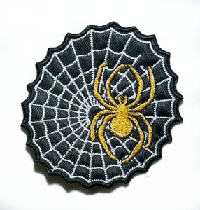 """Spiderweb 3"""" Embroidered Patch"""