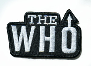 "The Who - Logo 3"" Embroidered Patch"