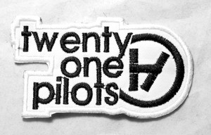 "Twenty One Pilots - White Logo 3"" Embroidered Patch"