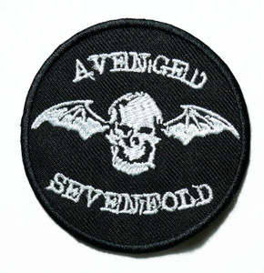 """Avenged Sevenfold - Logo 3"""" Embroidered Patch"""