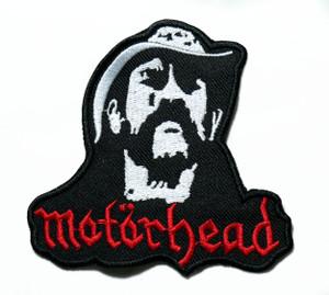 """Motörhead - Lemmy 4"""" Embroidered Patch"""