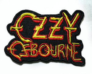 "Ozzy Osbourne - Logo 3"" Embroidered Patch"